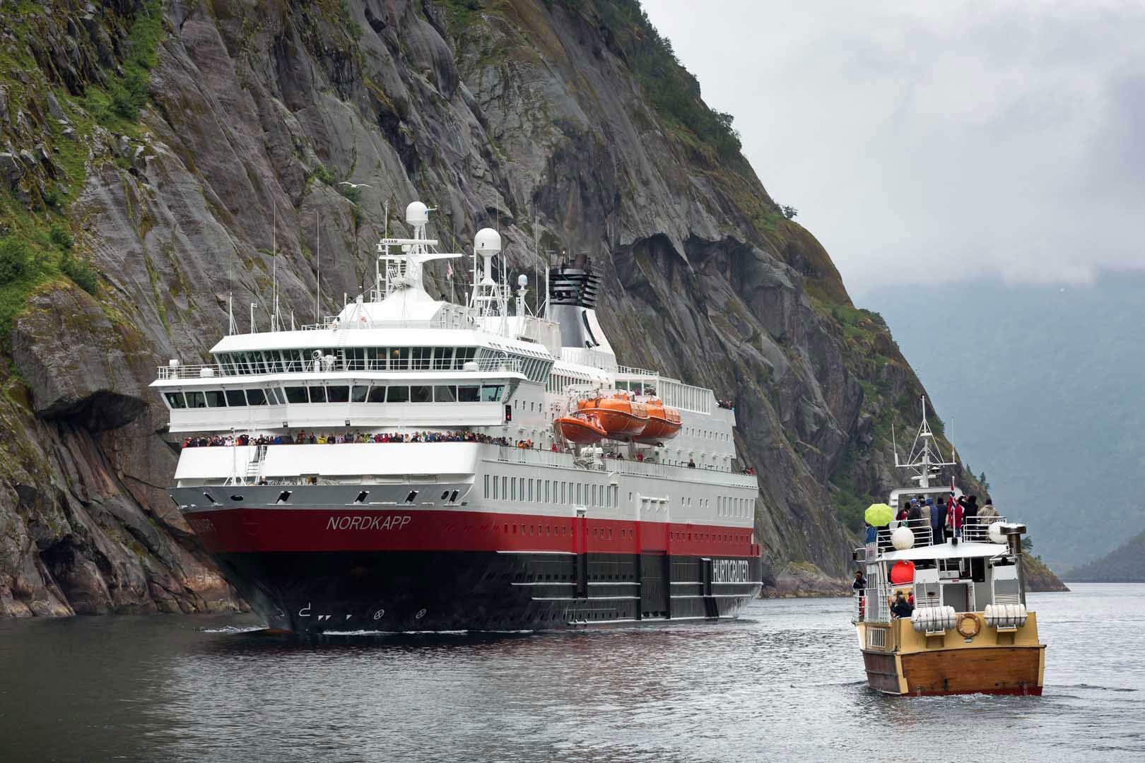 Trollfjord, Hurtigruten, Norwegen