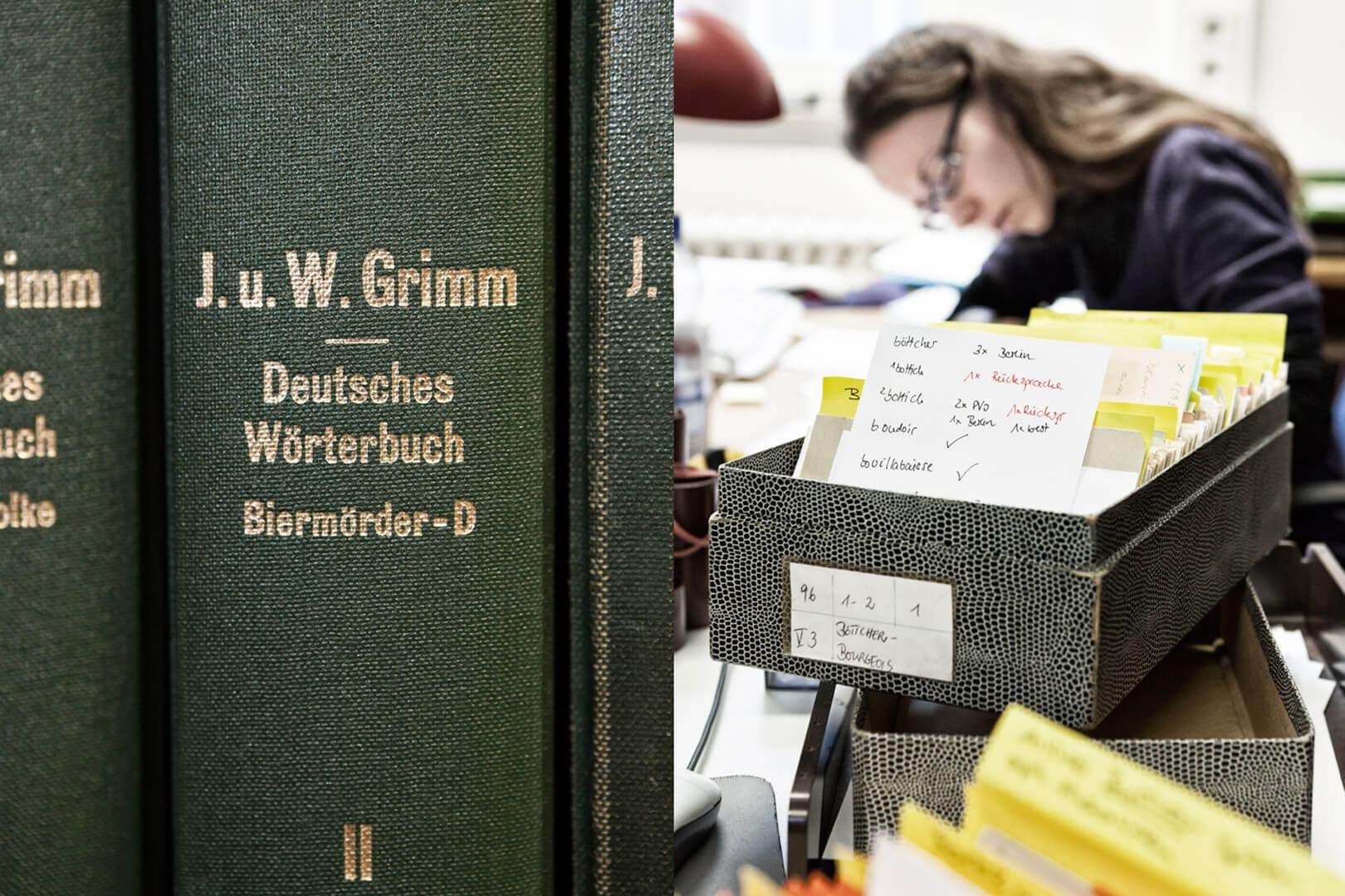 Deutsches Wörterbuch, Göttingen