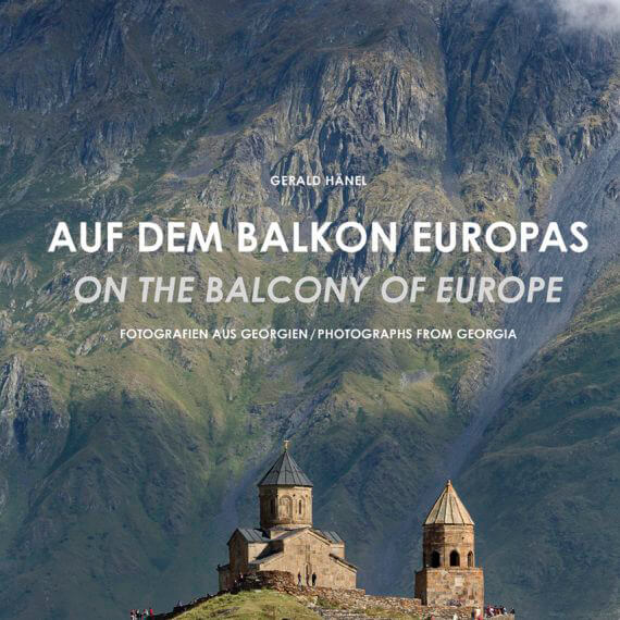 Auf dem Balkon Europas,Fotografien aus Georgien, Bildband im Mitteldeutschen Verlag
