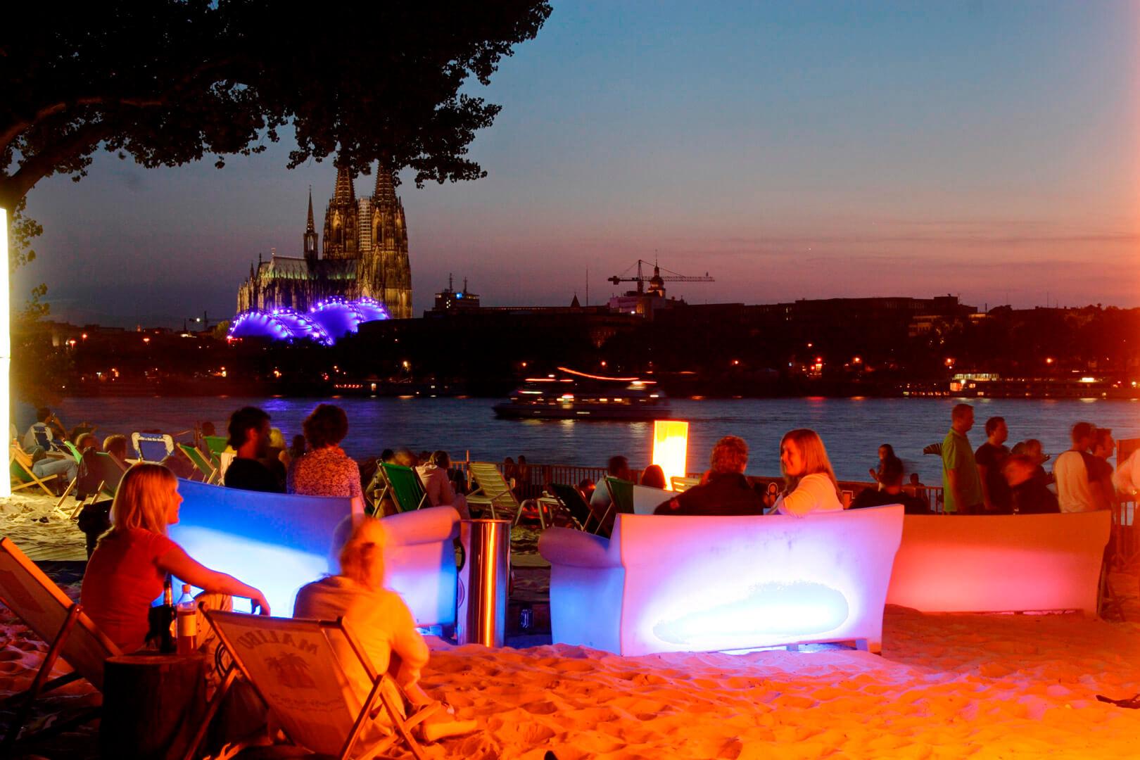 Beachclub, Köln