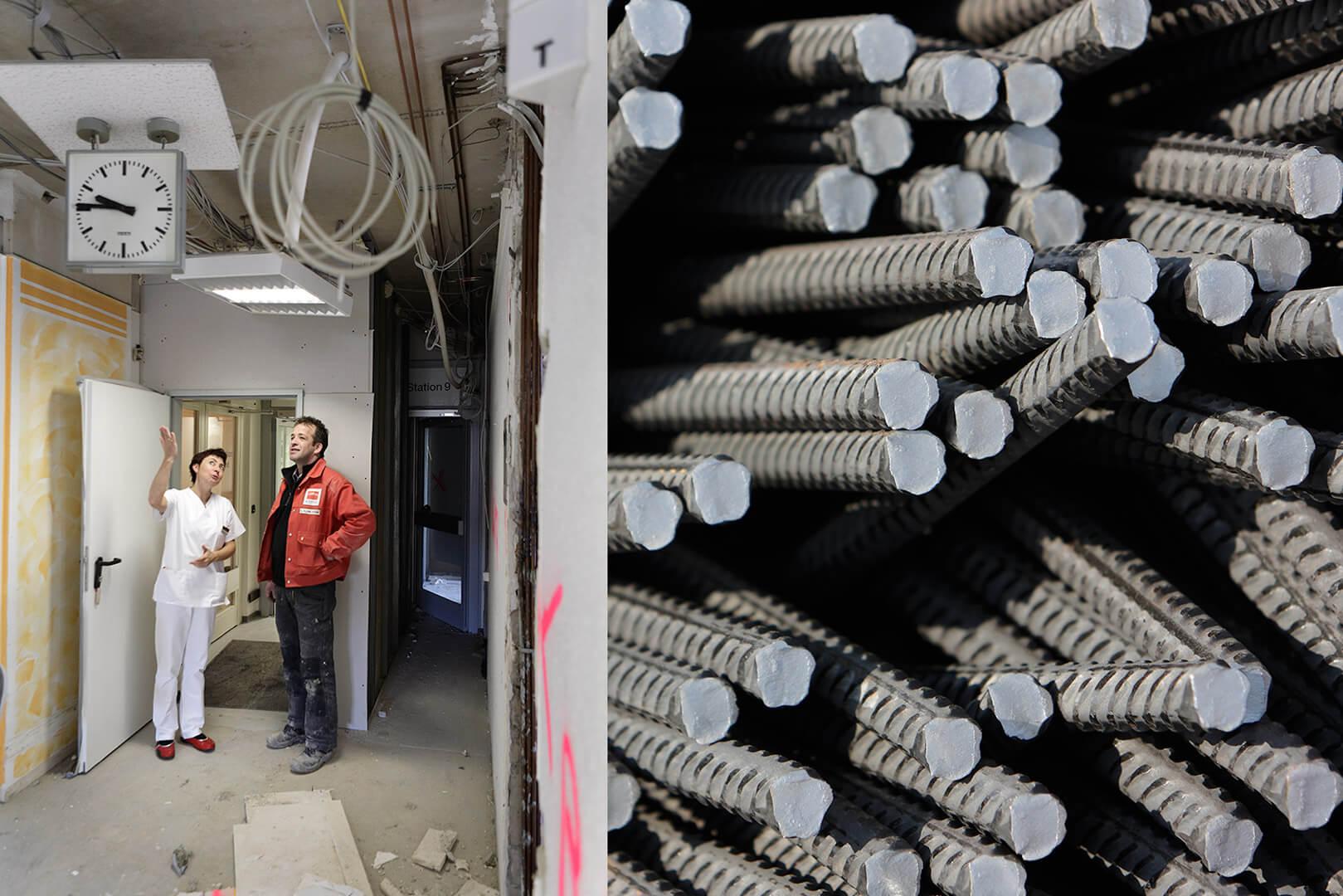 Umbau Paracelsius Klinik Osnabrück im laufenden Betrieb