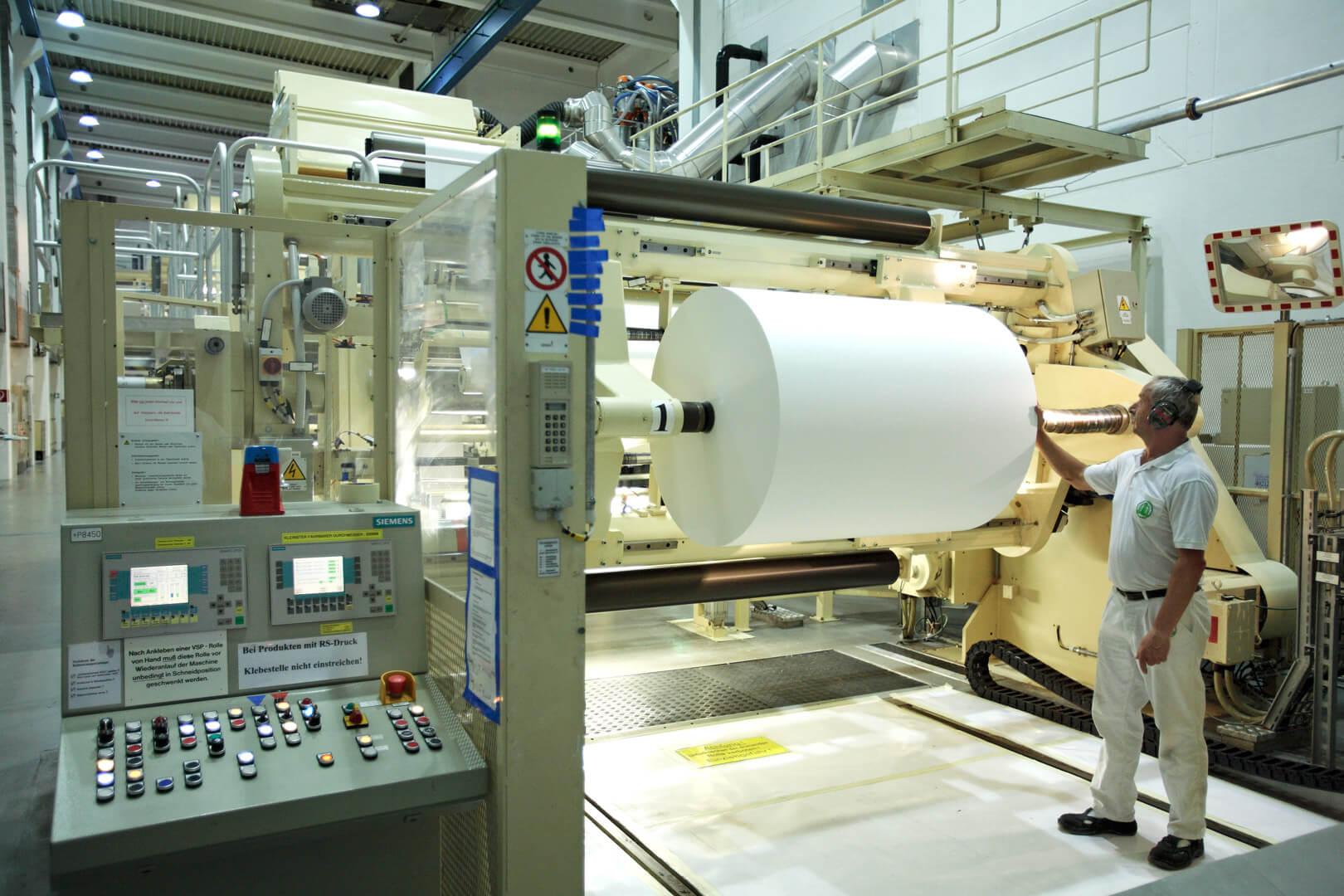 Werk Weißenborn - Papiermaschine