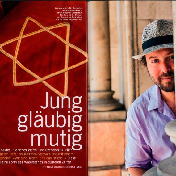 Merian Magazin Budapest, Reportage Juden