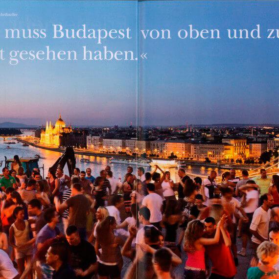 Merian Magazin Budapest, Stadtportrait
