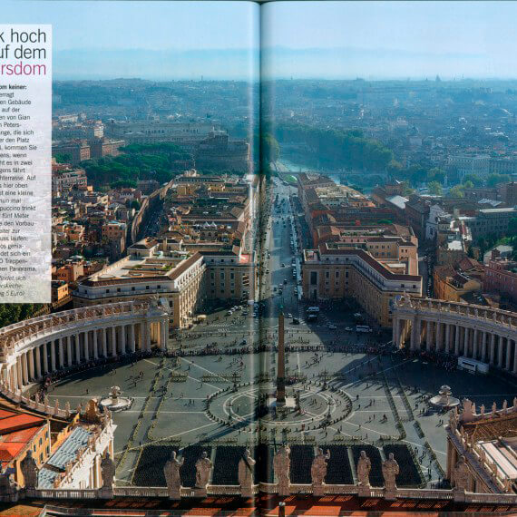 Merian Magazin Rom
