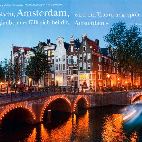 Merian Magazin Amsterdam, Portfolio