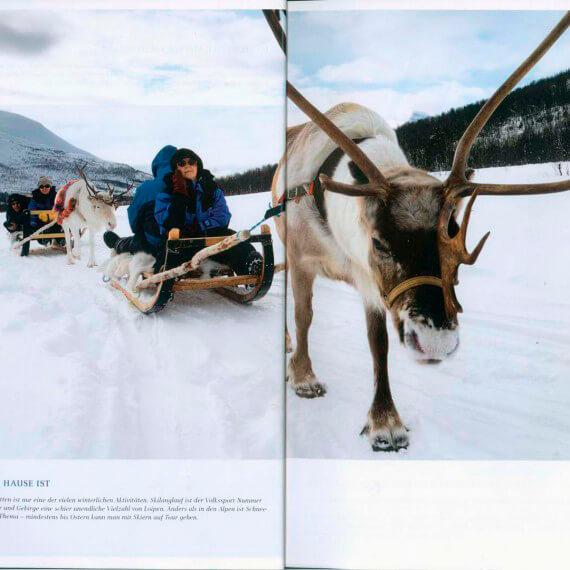 Dumont Bildatlas Hurtigruten, Winterreise