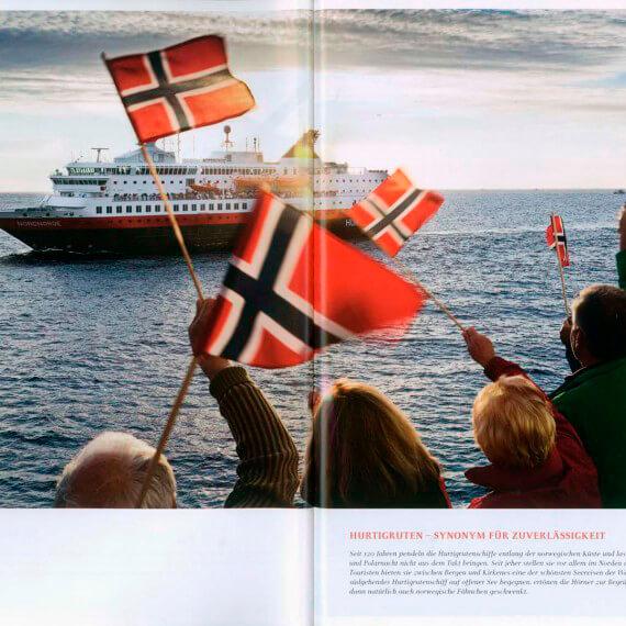 Dumont Bildatlas Hurtigruten, Fotoproduktion