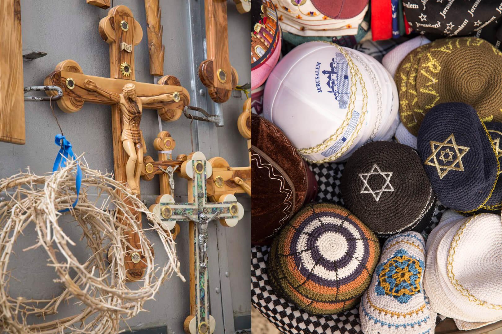 Devotionalien, Jerusalem