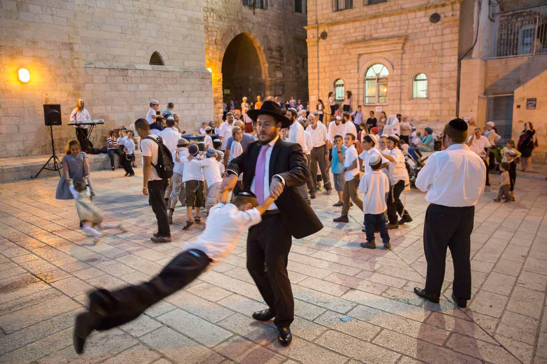 Laubhüttenfest. Jerusalem